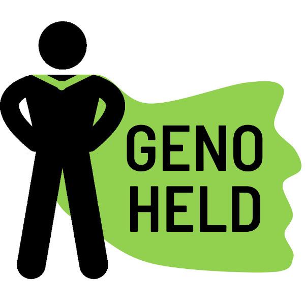 Icon: GenoHeld Logo